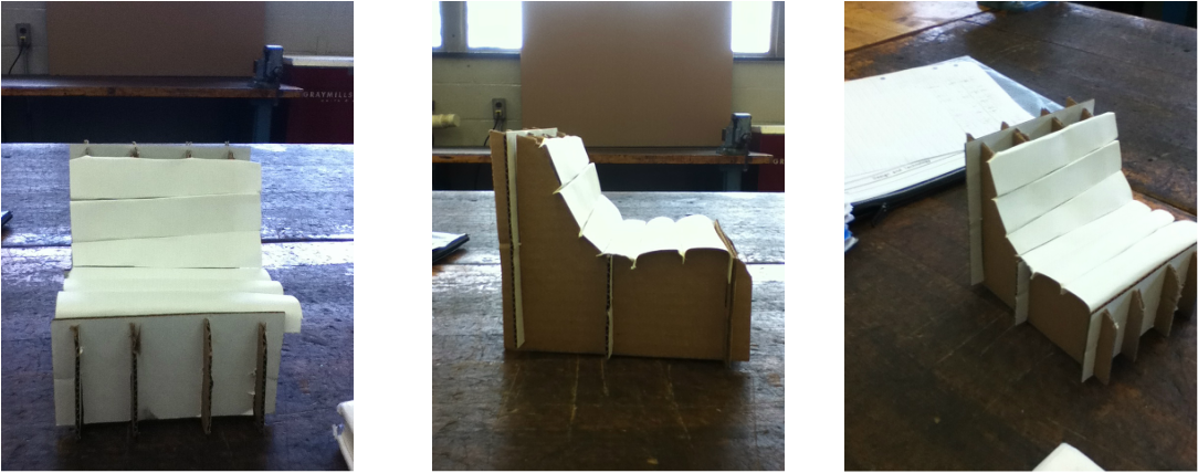 Cardboard Chair Project - Pre-Engineering